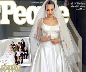 Gaun Perkahwinan Angelina Jolie