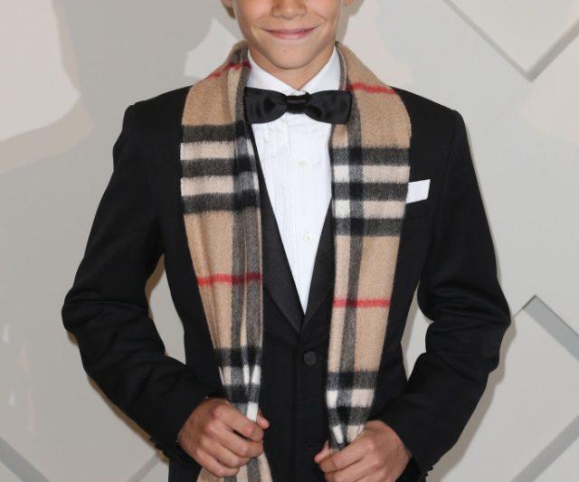 Anak Beckham Bintang Burberry