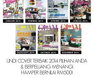 COVER PILIHAN GLAM DEKO 2014