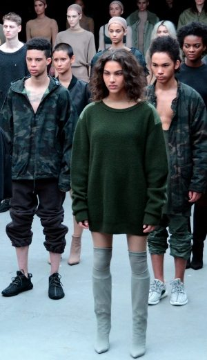 NYFW: Kolaborasi Kanye West dan Adidas