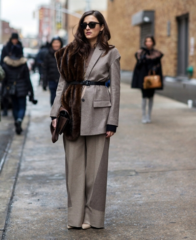 EXCLUSIVE MBFW New York Fall/Winter 2015 - Streetstyle