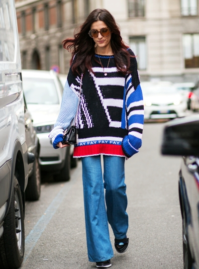 EXCLUSIVE PREISABSPRACHE -MFW Autumn/ Winter 2015 - Street style