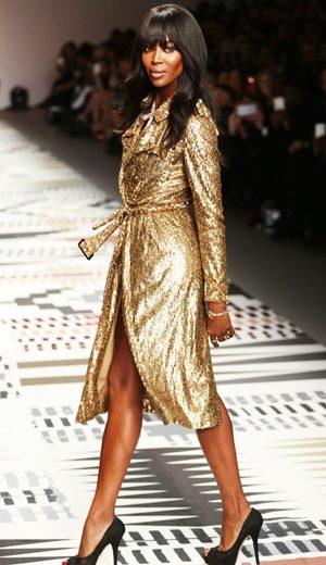 Naomi Campbell Hangatkan Pembukaan Minggu Fesyen London