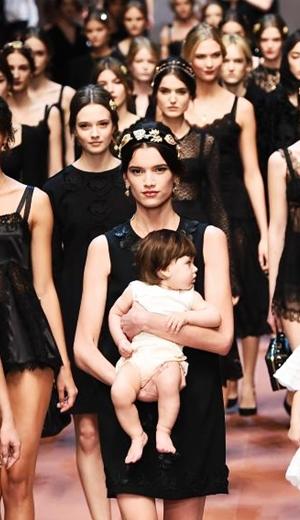 Minggu Fesyen Milan: Dolce & Gabbana Rai Bonda