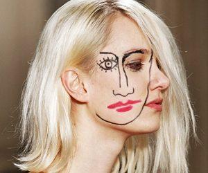 Beauty Look Di Jacquemus: Face Paint
