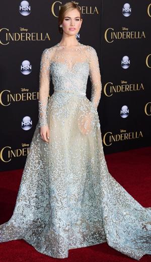 Lily James Cinderella Moden