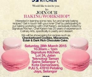 Baking Workshop Bersama GLAM DEKO