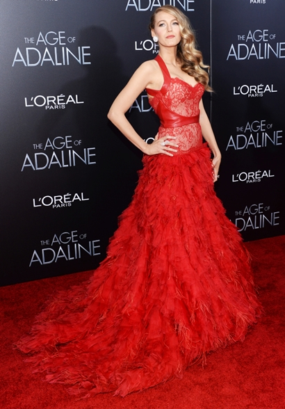 """NY: """"Age Of Adaline"""" New York Premiere - Arrivals"""