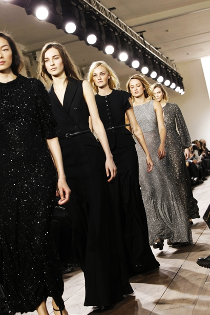 Michael Kors Show During Fall 2015 New York Mercedes Benz Fashion Week - Runway