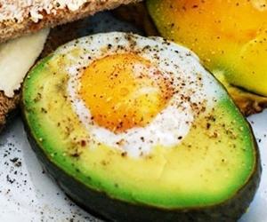 Sarapan Sihat Dengan Avocado Egg
