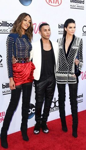 Balmain Jadi Tumpuan di Billboard Music Awards 2015