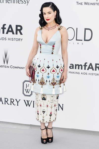 amfAR's Cinema against AIDS Gala, Antibes, France