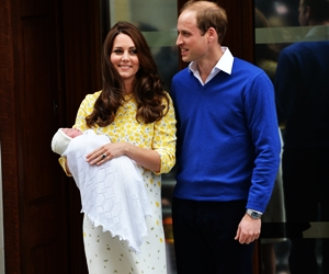 Gambar Anak Kedua Kate Middleton