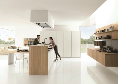 KUBIC 4 Wooden fitted kitchen euromobil