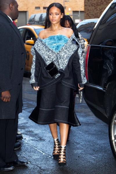 Rihanna denim