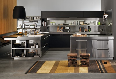 cool-modern-italian-black-and-stainless-steel-kitchen-with-peninsula-set-from-arclinea-dining-room-designs-contemporary-italian-kitchen-designs-f