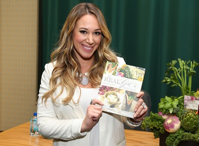 GLENDALE, CA - OCTOBER 18:  Actress Haylie Duff poses before signing copies of her new book, 'The Real Girl's Kitchen' at Barnes & Noble Booksellers on October 18, 2013 in Glendale, California.  (Photo by Imeh Akpanudosen/Getty Images)