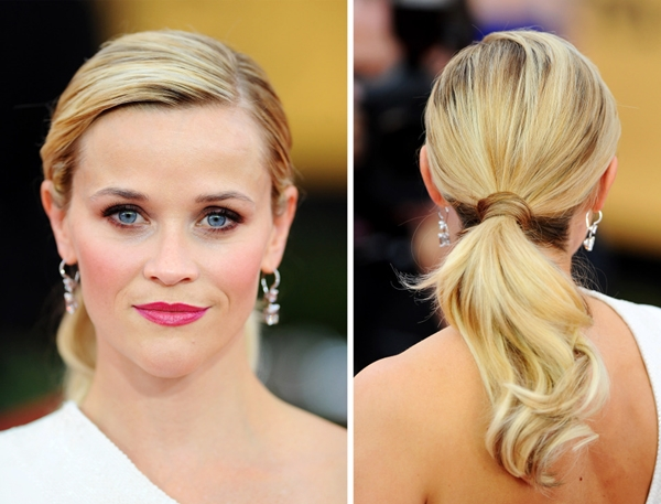 Reese Whiterspoon ponytail