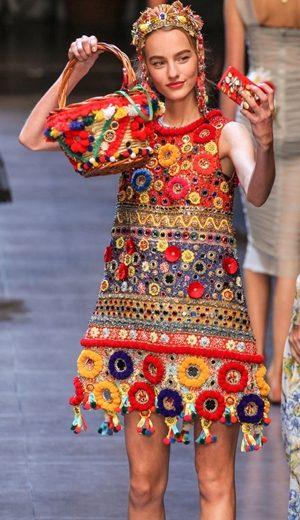 Selfie Di Pentas Dolce & Gabbana
