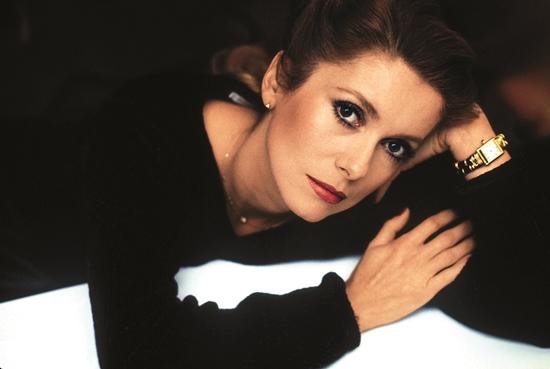 Catherine Deneuve wearing Tank 1984