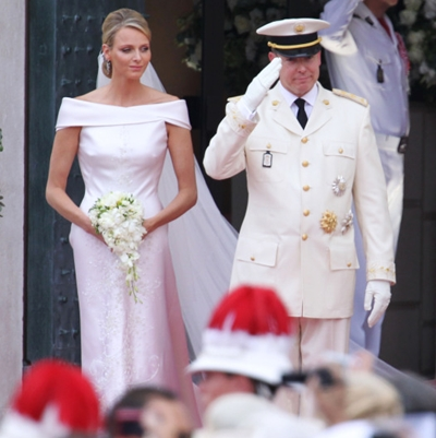 Princess Charlene wedding