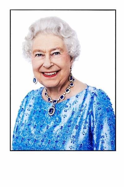 Queen Elizabeth in support of Britain's GREAT campaign