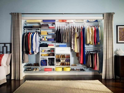 15.curtain wardrobe
