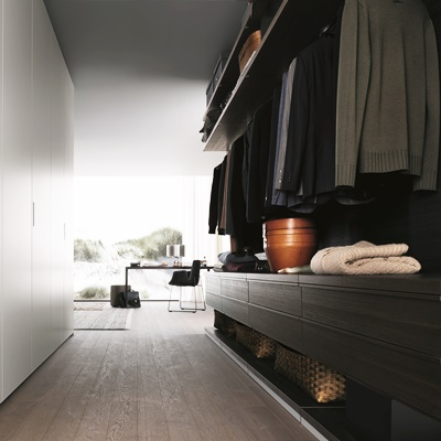 Poliform New entry & Ubik wardrobe systems