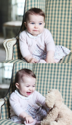Aksi Comel Puteri Charlotte