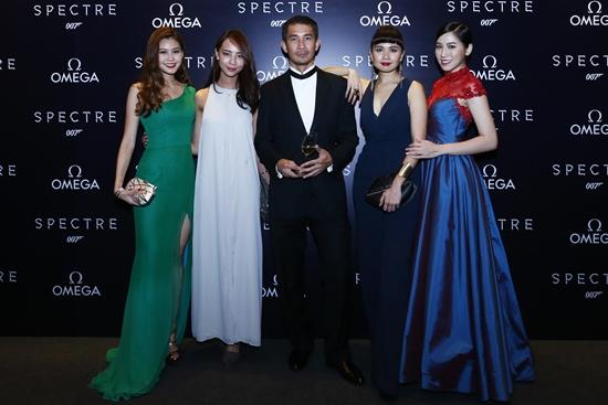 Denise Camillia, Linda Law, Steve Yap, Aenie Wong, Pauline Tan