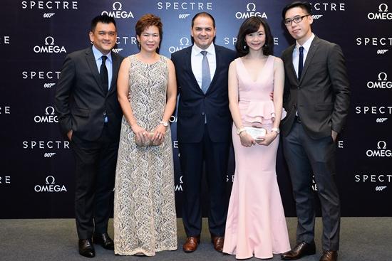 Joseph A. Boudville, Carrine Tan, Jose De Cardoso, Catherine Lee, Benedict Wong