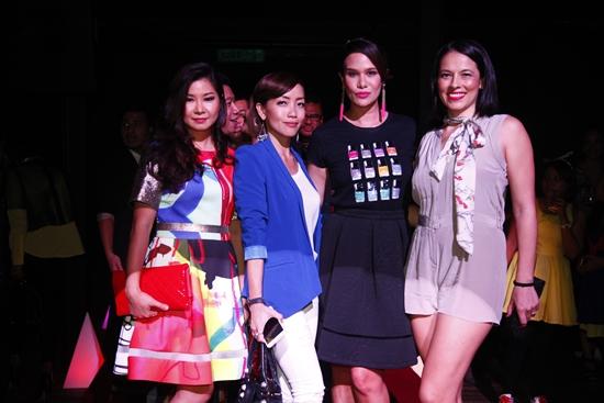 Stephanie Tay, Serena Choong, Elaine Daly, Lina Teo