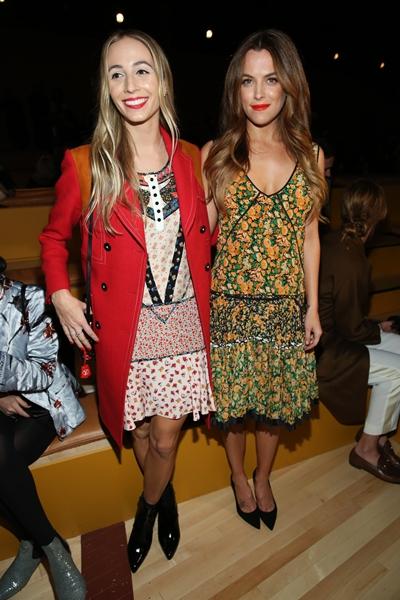 Harley Viera Newton & Riley Keough