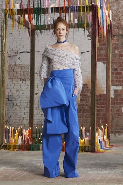 Rosie Assoulin Look 19 fall 2016