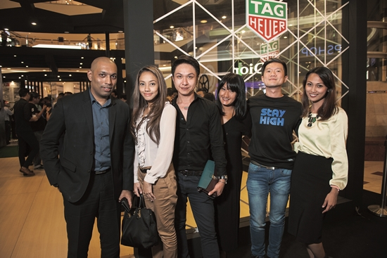 Suhanth, Tengku Nora, Azril Kama, Wani, Phil K & Raja Zarifa