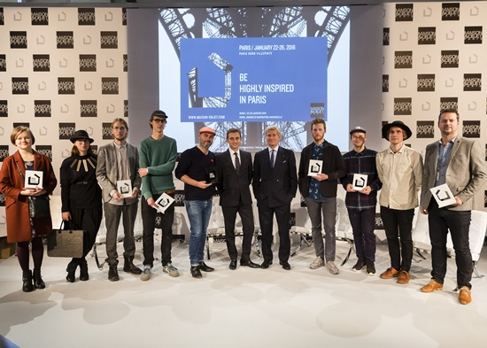 All 6 Scandinavian Rising Talents at the award ceremony in M&O Paris January 2016