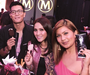Party Magnum Pink & Black