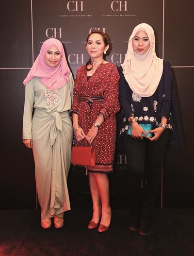 Datin Norliza, Ayu and Asma