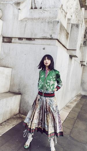 Eksklusif: Penggambaran Fesyen Margaret Zhang Bersama Gucci Di Milan