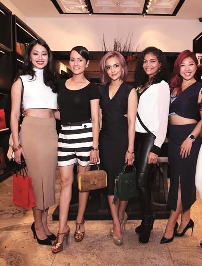 Sarah Lian, Yasmin Hani,Sazzy Falak, Azura Zainal, Linora Lo