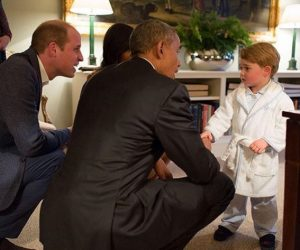 Putera George bertemu Obama