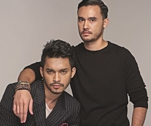 Pereka menswear Malaysia: JOSHUA FITTON