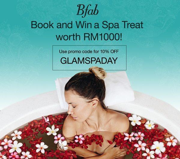 Menangi 'Weekend Spa Treat' Bernilai RM1,000 daripada Bfab.my Sempena Hari Ibu