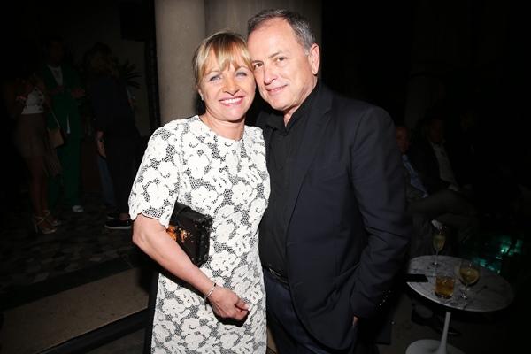 Brigitte and Michael Burke