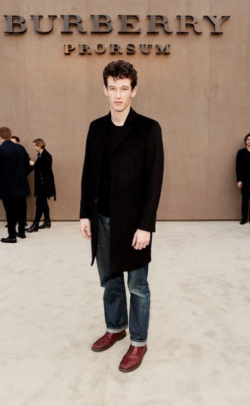 Burberry AW14 Menswear Show – Arrivals