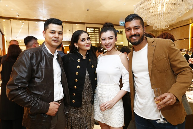 Ahmed Feruz Zainab Abidin, Fyza Kadir, Carey Ng & Roen Cian