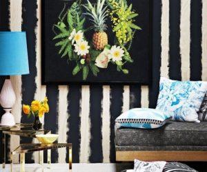 10 Trik & Idea Dekorasi Dinding