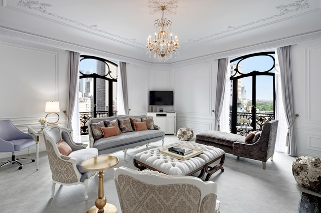 DIOR SUITE, ST. REGIS NEW YORK