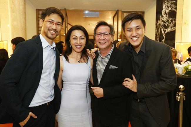 Daryl Foong, Datin Mina Foong, Dato' Simon Foong & Dexter Foong
