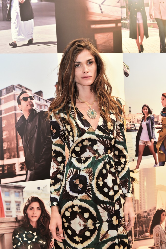 Elisa Sednaoui at Art of the Trench Middle East Event in Dub
